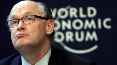 Douglas Flint, Group Chairman of HSBC Holdings attends the annual meeting of the World Economic Forum (WEF) in Davos January 26, 2013.