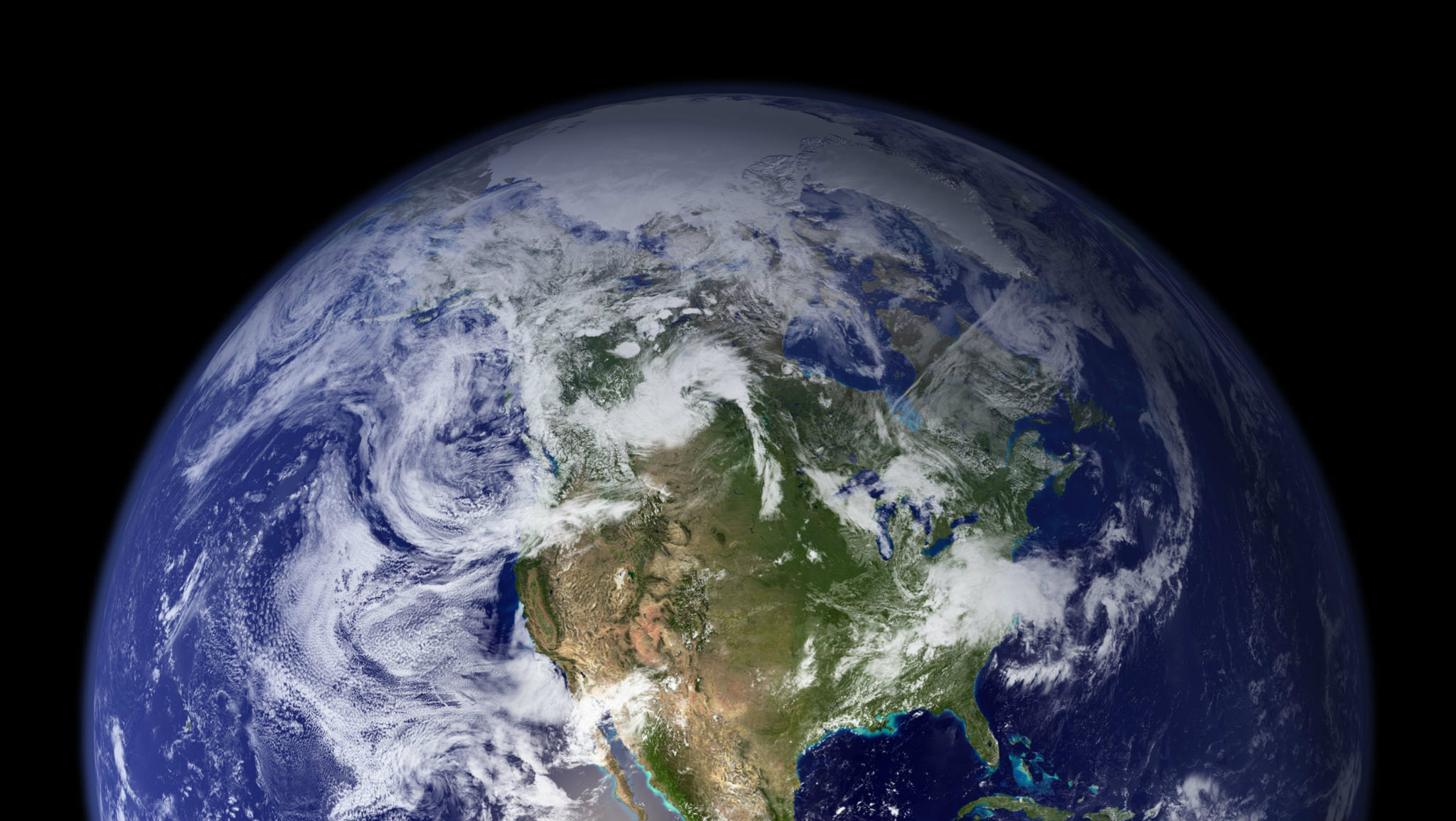 NASA space image of planet earth
