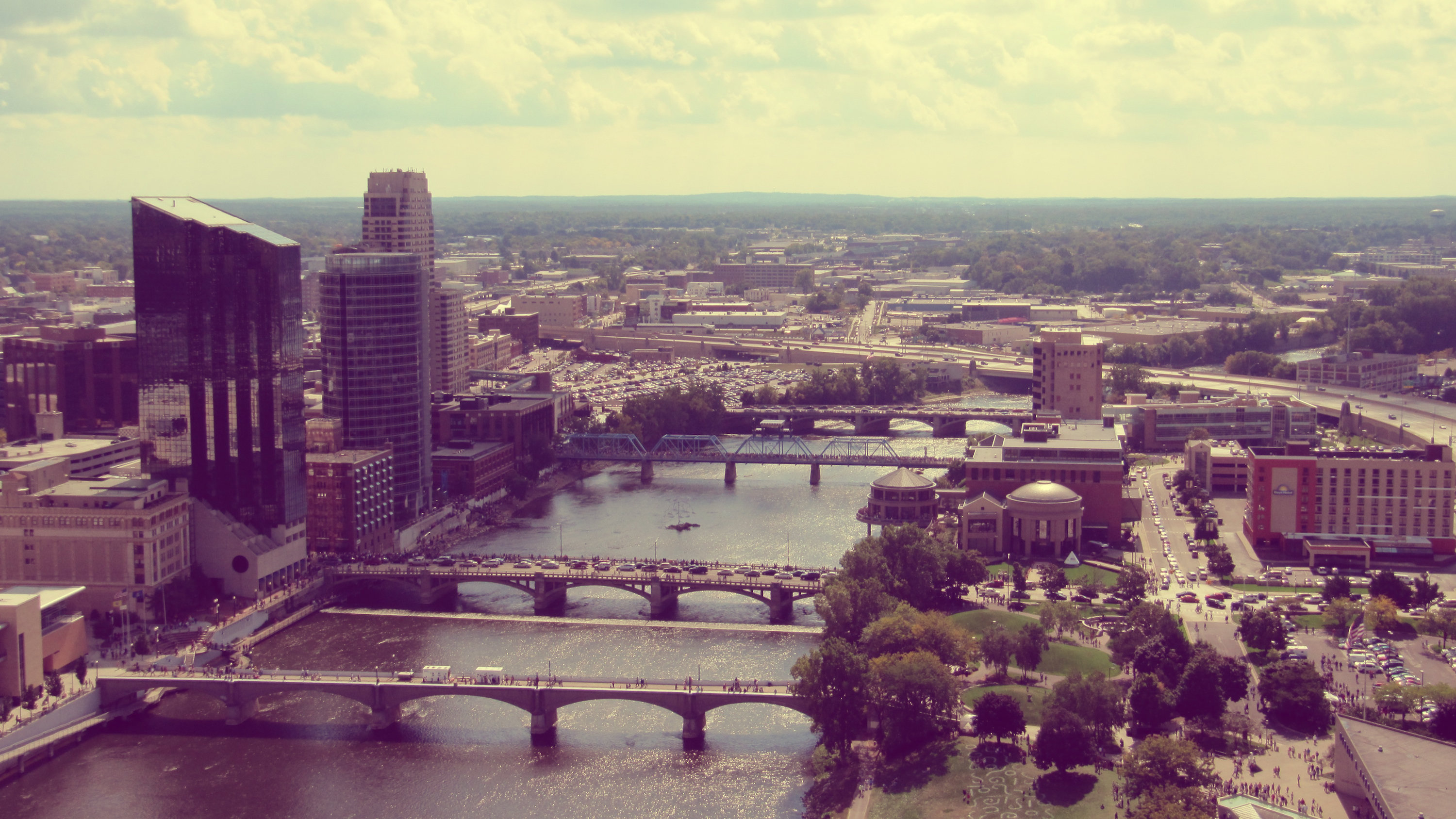 """Grand Rapids, Michigan, one """"Furniture City,"""" is now """"Beer City, USA."""""""