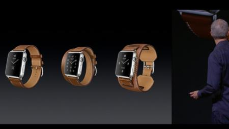 Three variations on the Apple Watch Hermès