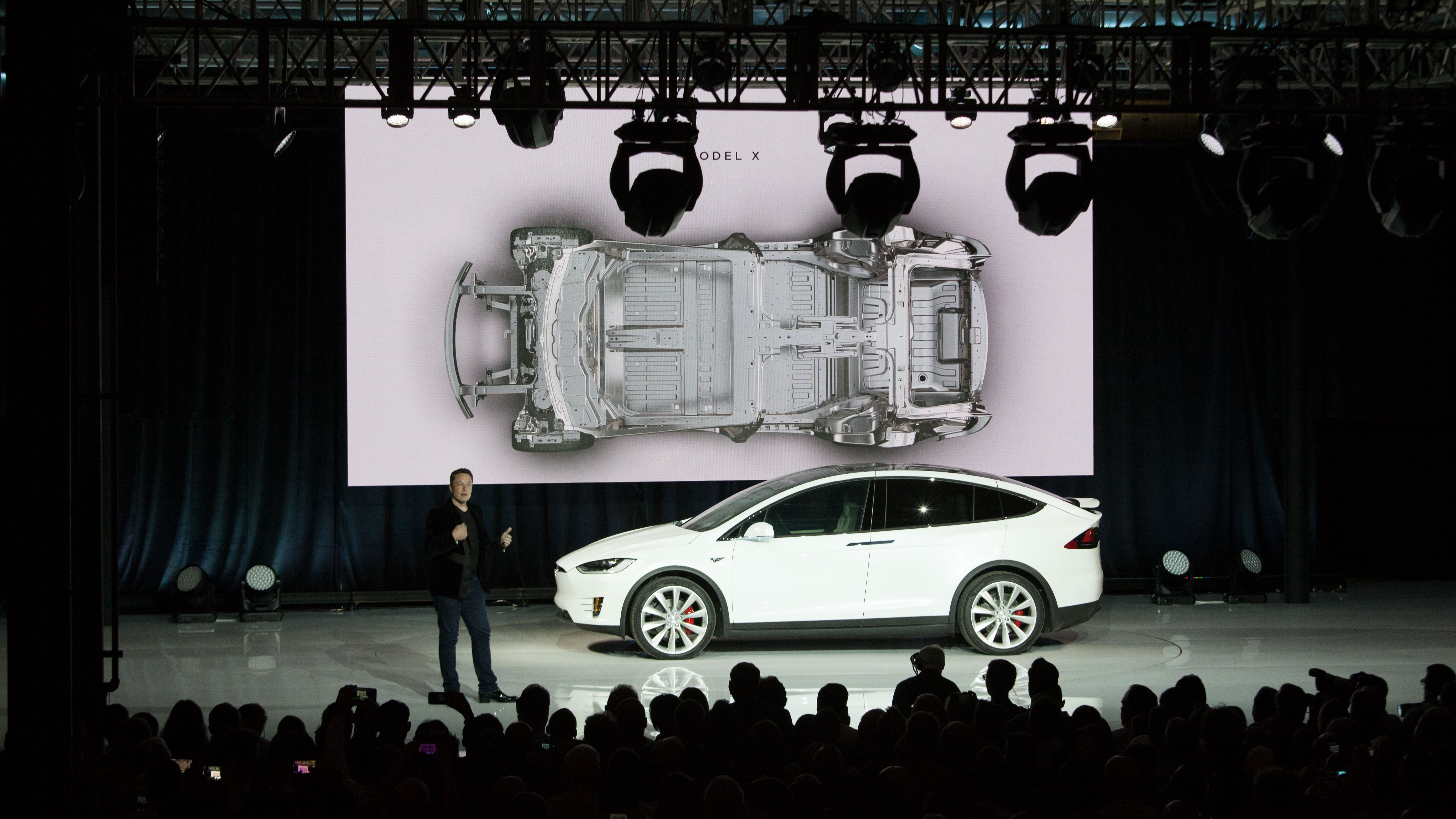 """""""The safest SUV ever,"""" says Musk."""
