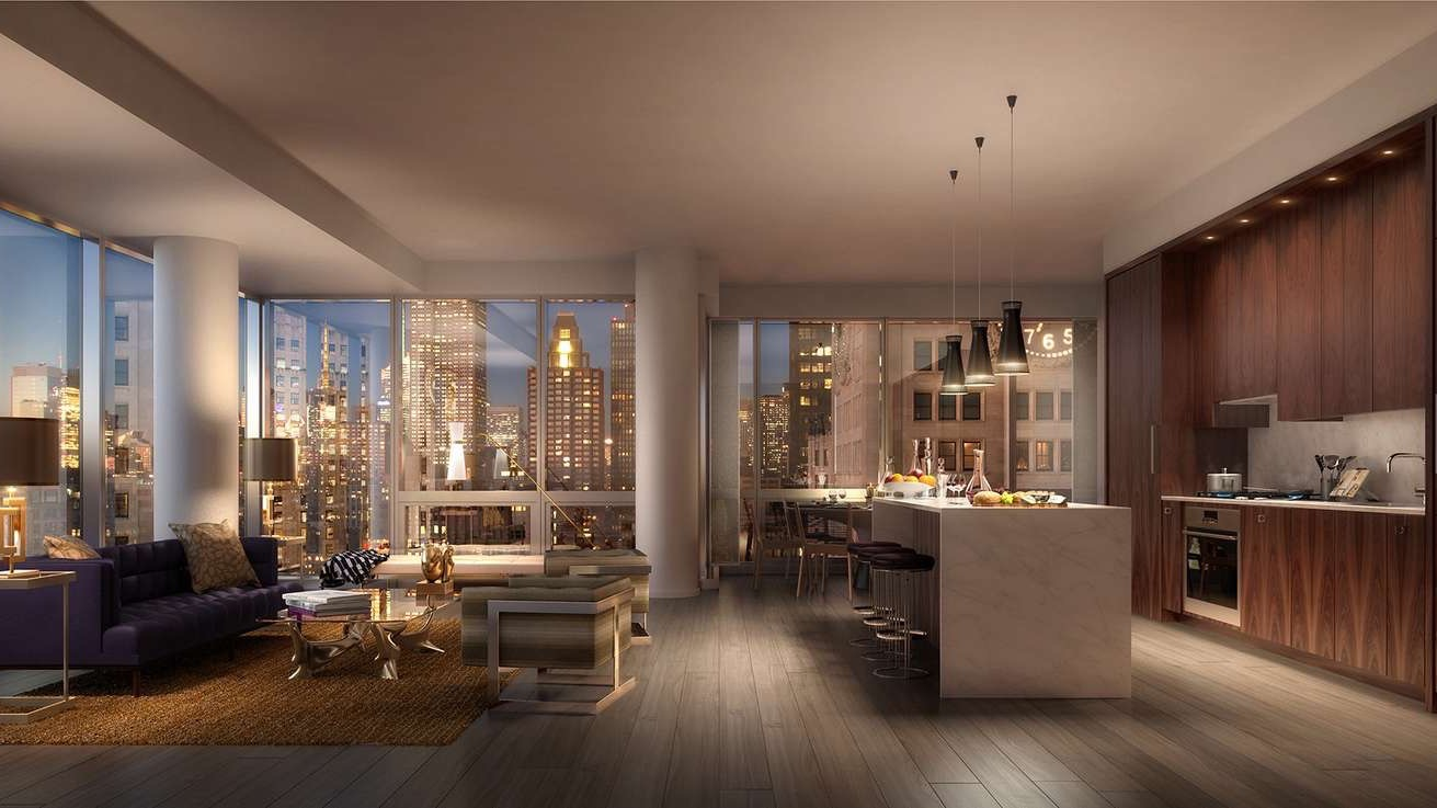 Tour the posh new york real estate linked to a us for Luxury nyc real estate