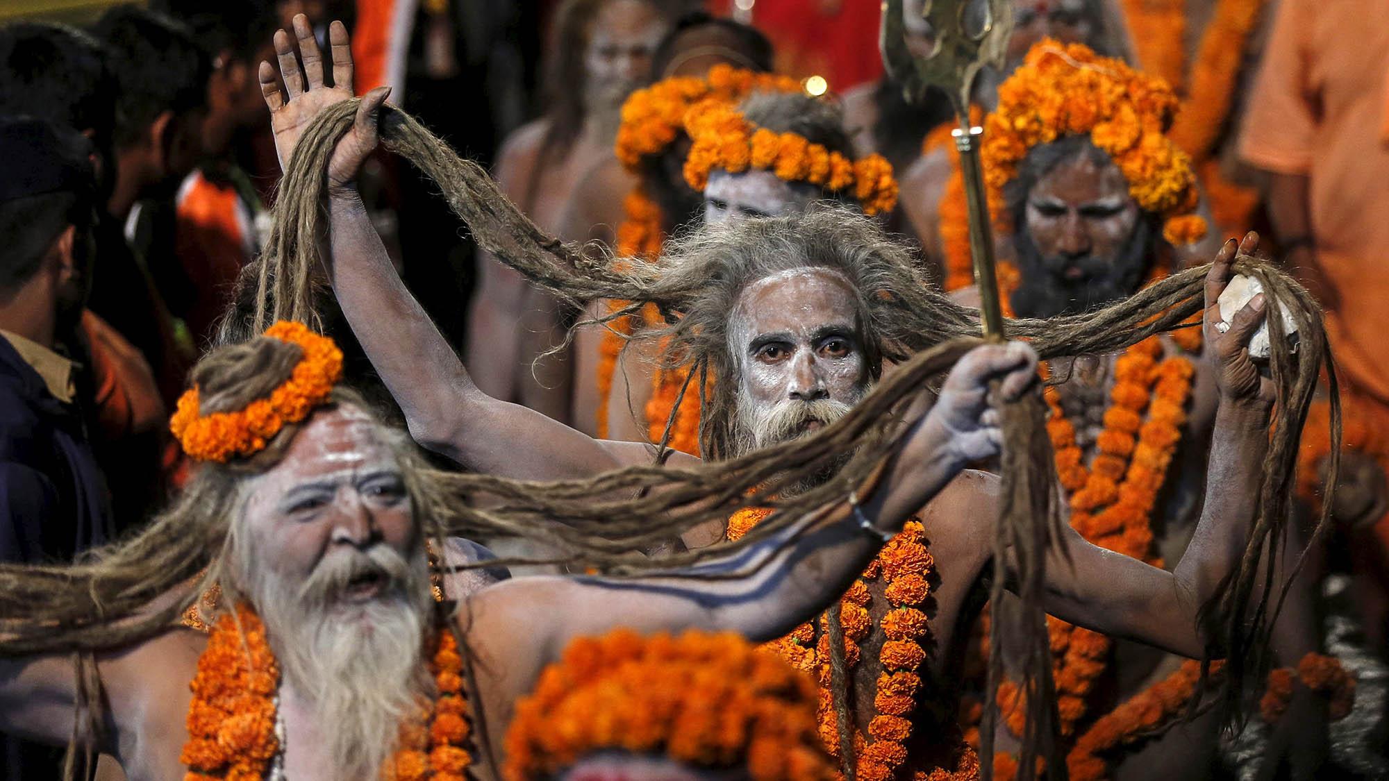 Kumbh Mela: Stunning photos of Indias festival of naked