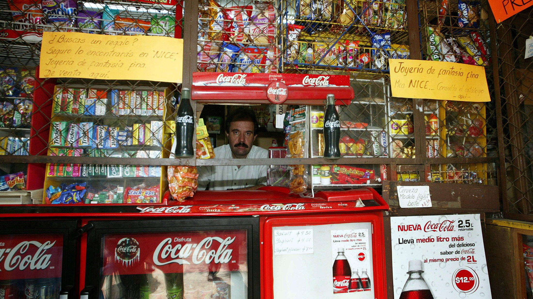 A convenience store in Mexico