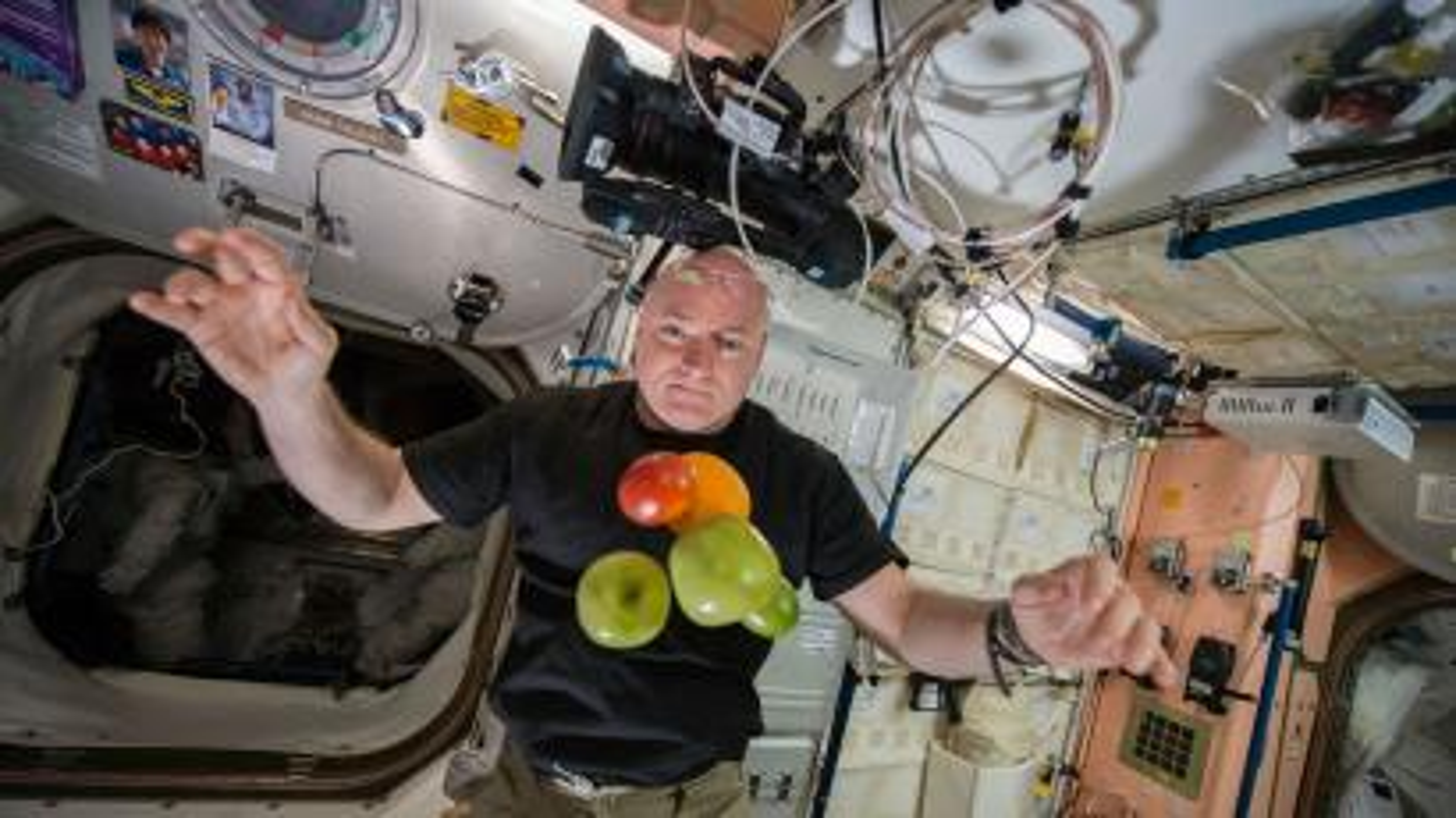Scott Kelly ISS NASA