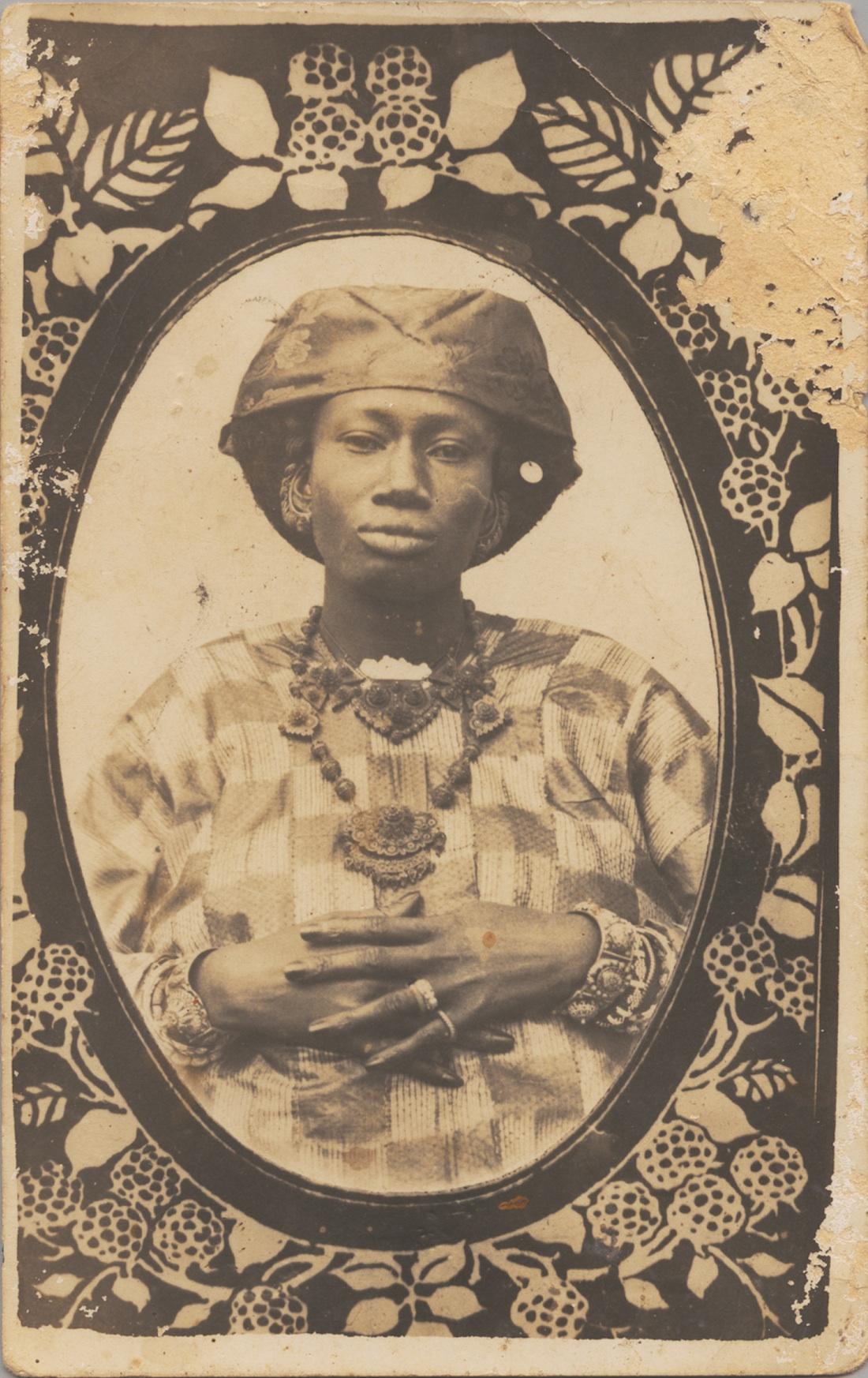 Unknown Artist (Senegal) Portrait of a Woman, ca. 1910