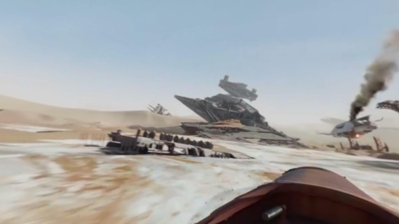 360-degree Star Wars.