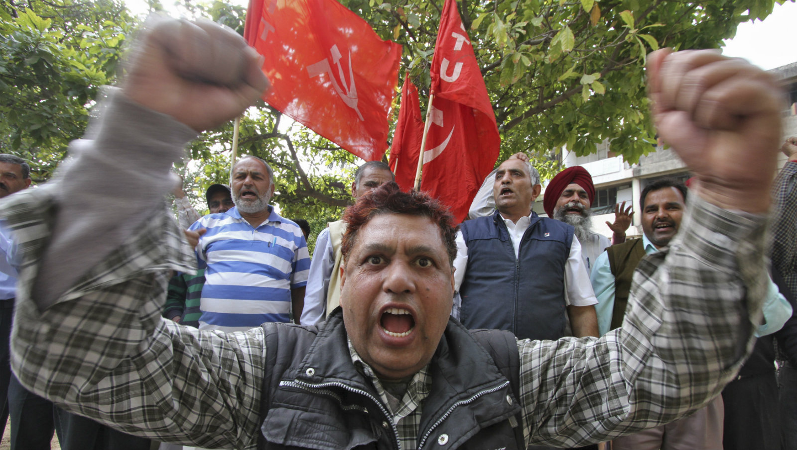 India-strike-trade-unions
