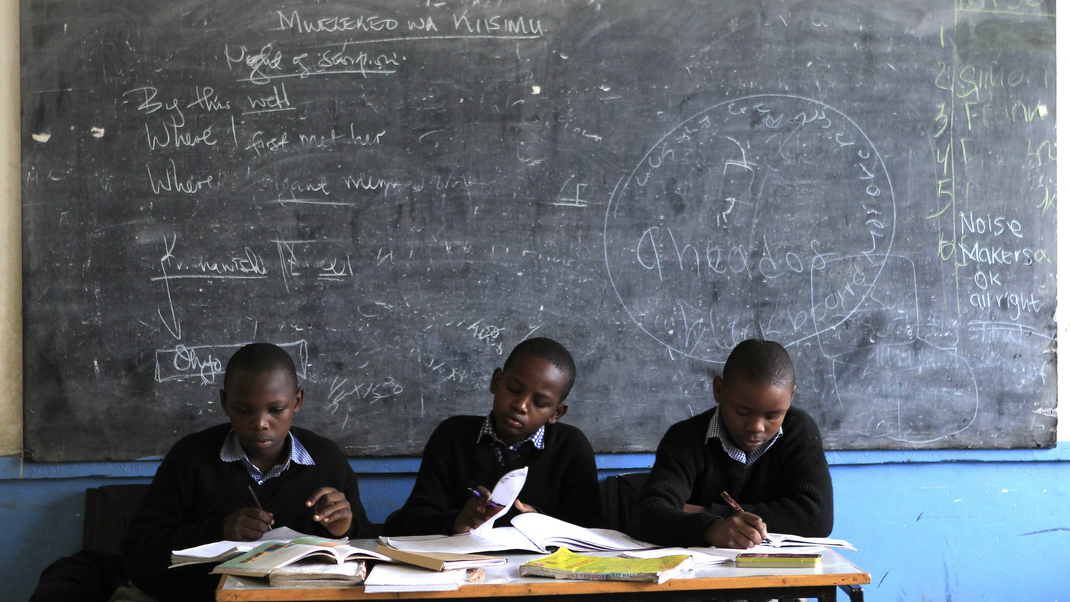 A teachers strike in Kenya has left schools closed for three weeks.