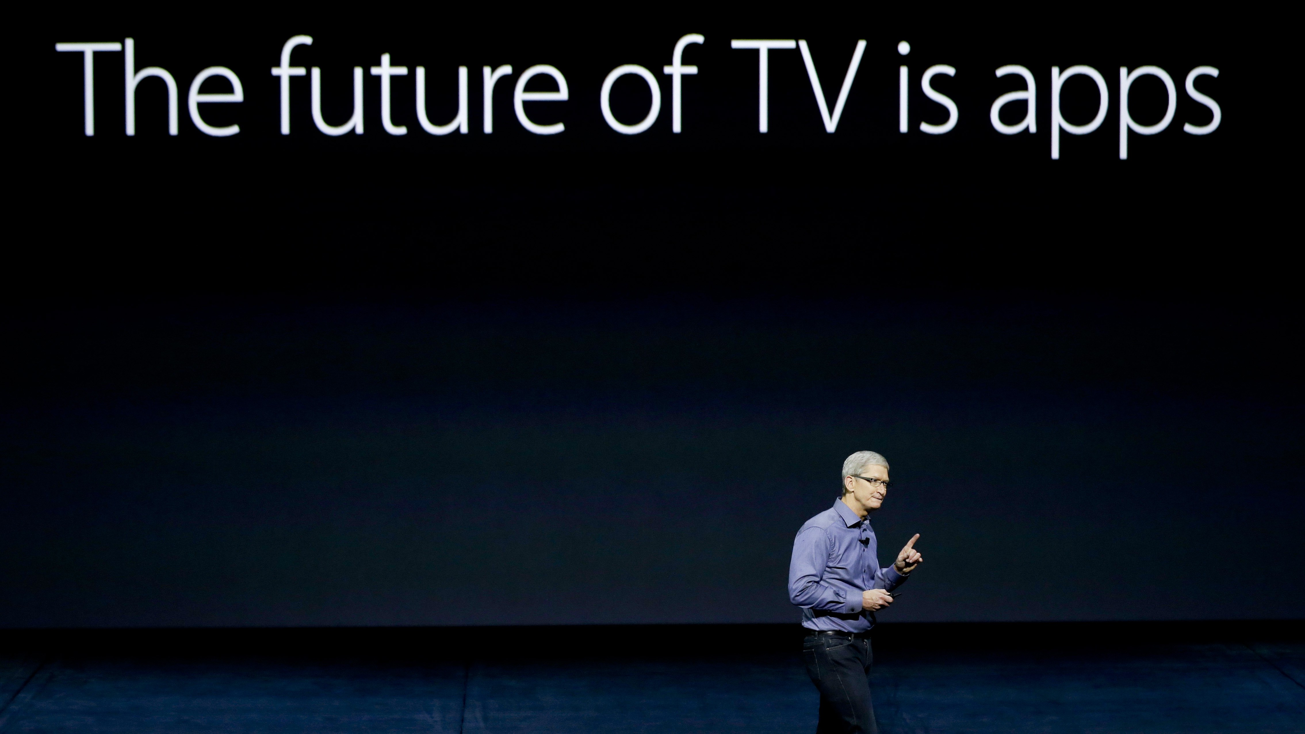 tim cook future of tv
