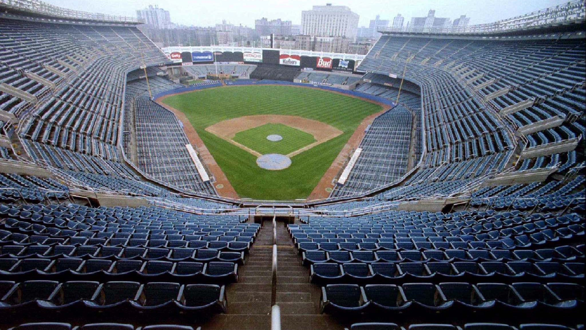 "- FILE PHOTO 14SEP94 - Yankee Stadium, ""The House that Ruth Built"" and site of 22 World Series since.."