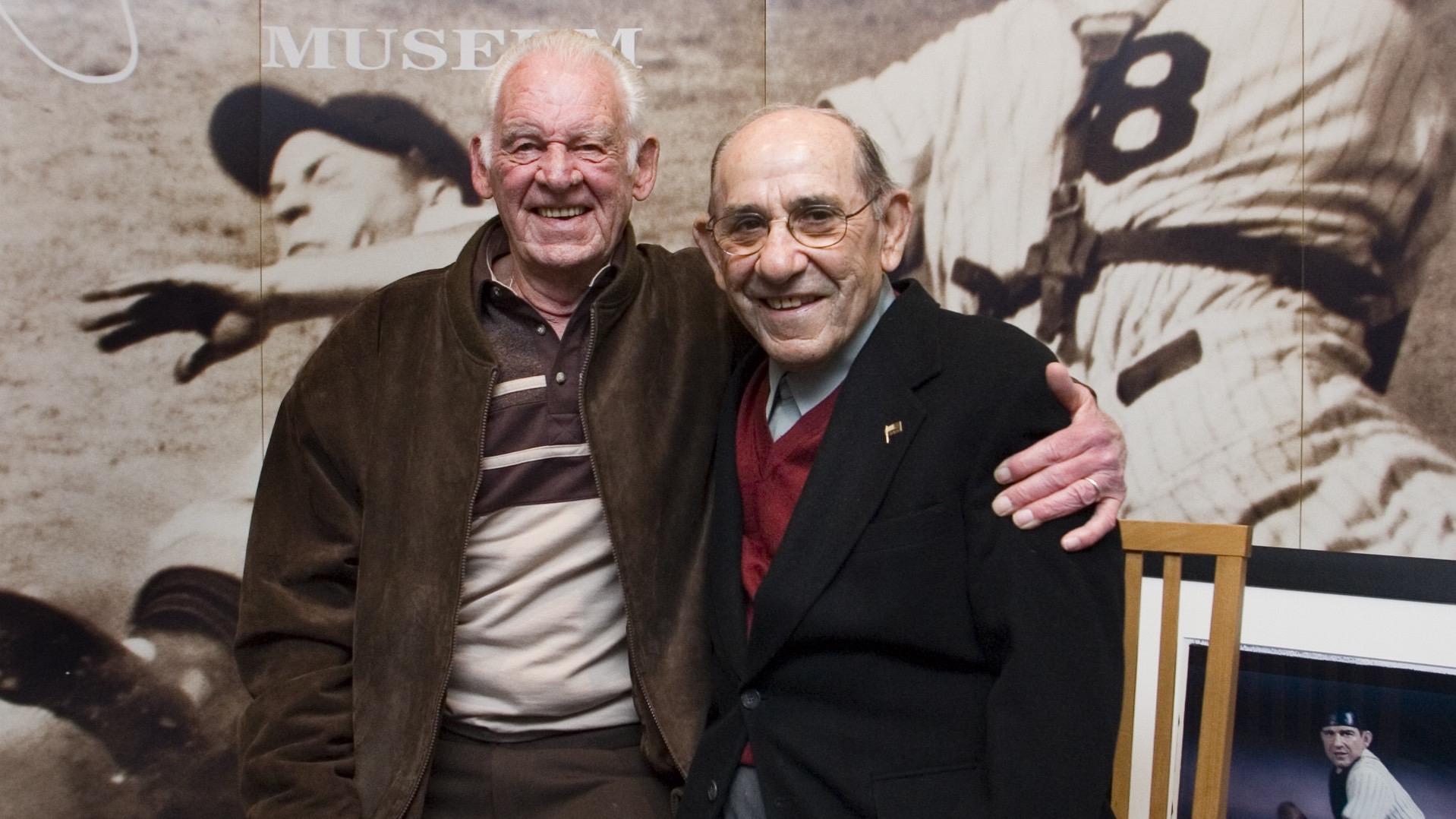 Don Larsen, Yogi Berra