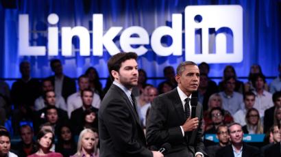 LinkedIn Jeff Weiner Barack Obama