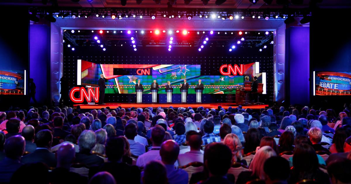I tried to watch the Democratic debate in virtual reality, but all I got was Coldplay
