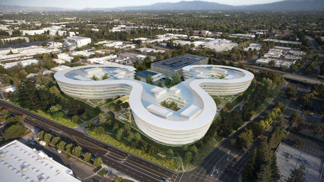 "A sneak peek at Apple's new ""spaceship"" campus in Sunnyvale — Quartz"