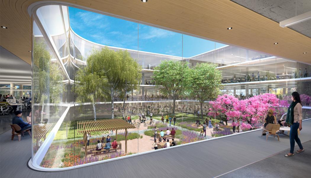 apple sunnyvale spaceship campus