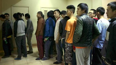 The largest group of Chinese nationals to be charged in Kenya.