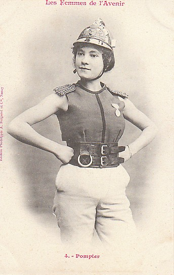 Women of the Future trading card