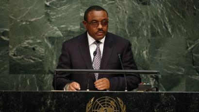 Ethiopia's prime minister Hailemariam Desalegn was re-elected for a second term.