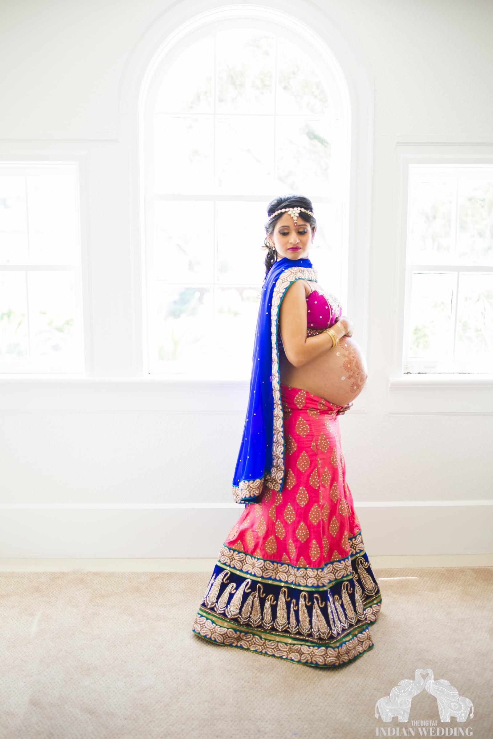 India-maternity-shoot
