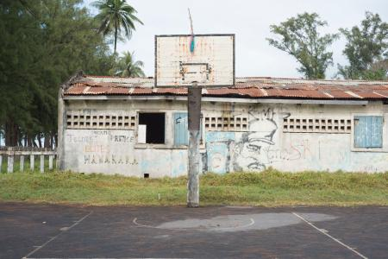 Manakara basketball court