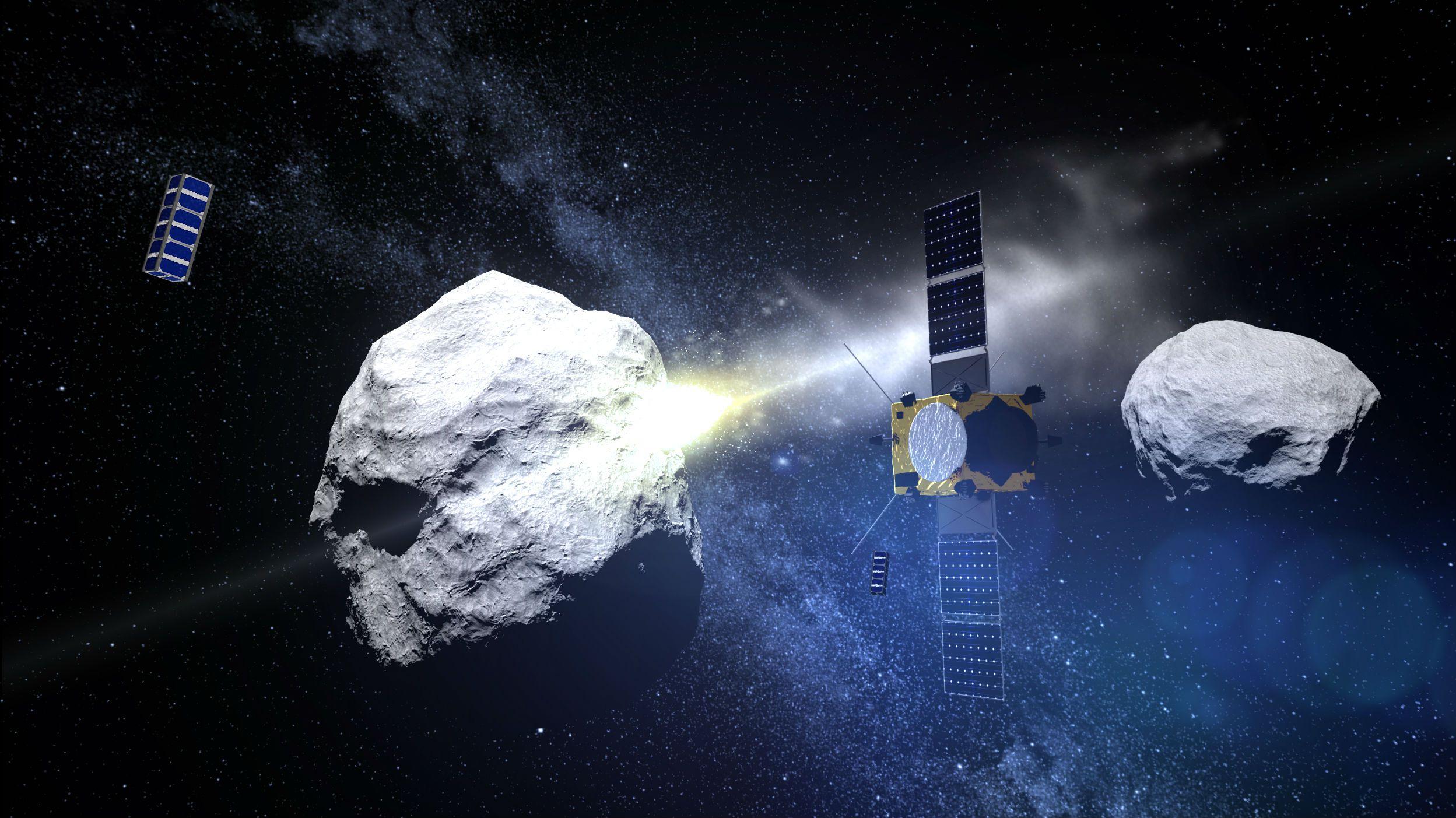 NASA ESA asteroid