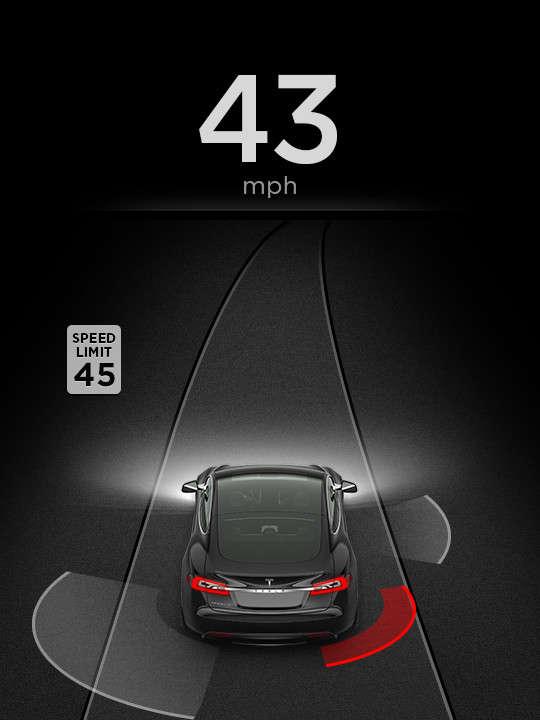 tesla model s autosteer autopilot