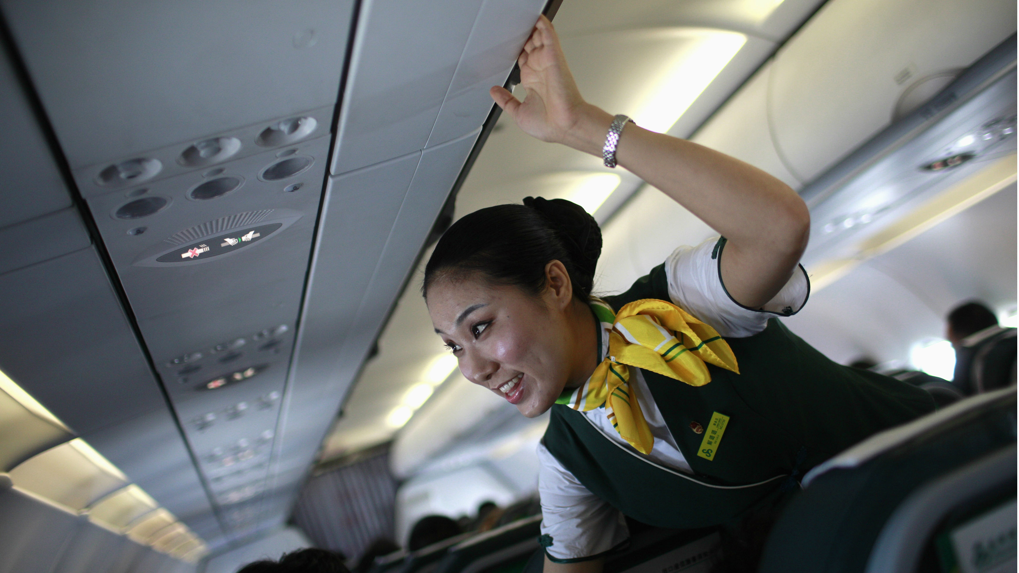 The Latest Evidence That Flight Attendants In Asia Have It