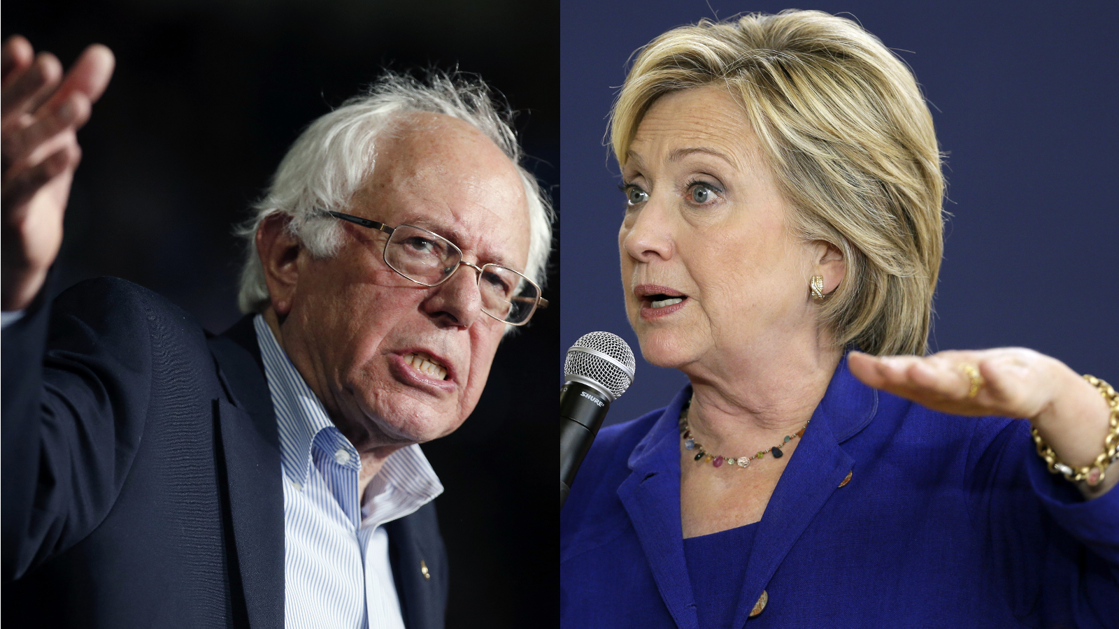 Leading presidential candidates Senator Bernie Sanders and former Secretary of State Hillary Clinton will face off tonight.