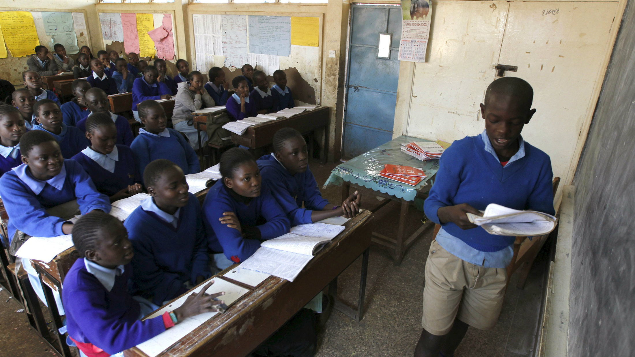 kenya s free education system is making inequality worse quartz africa