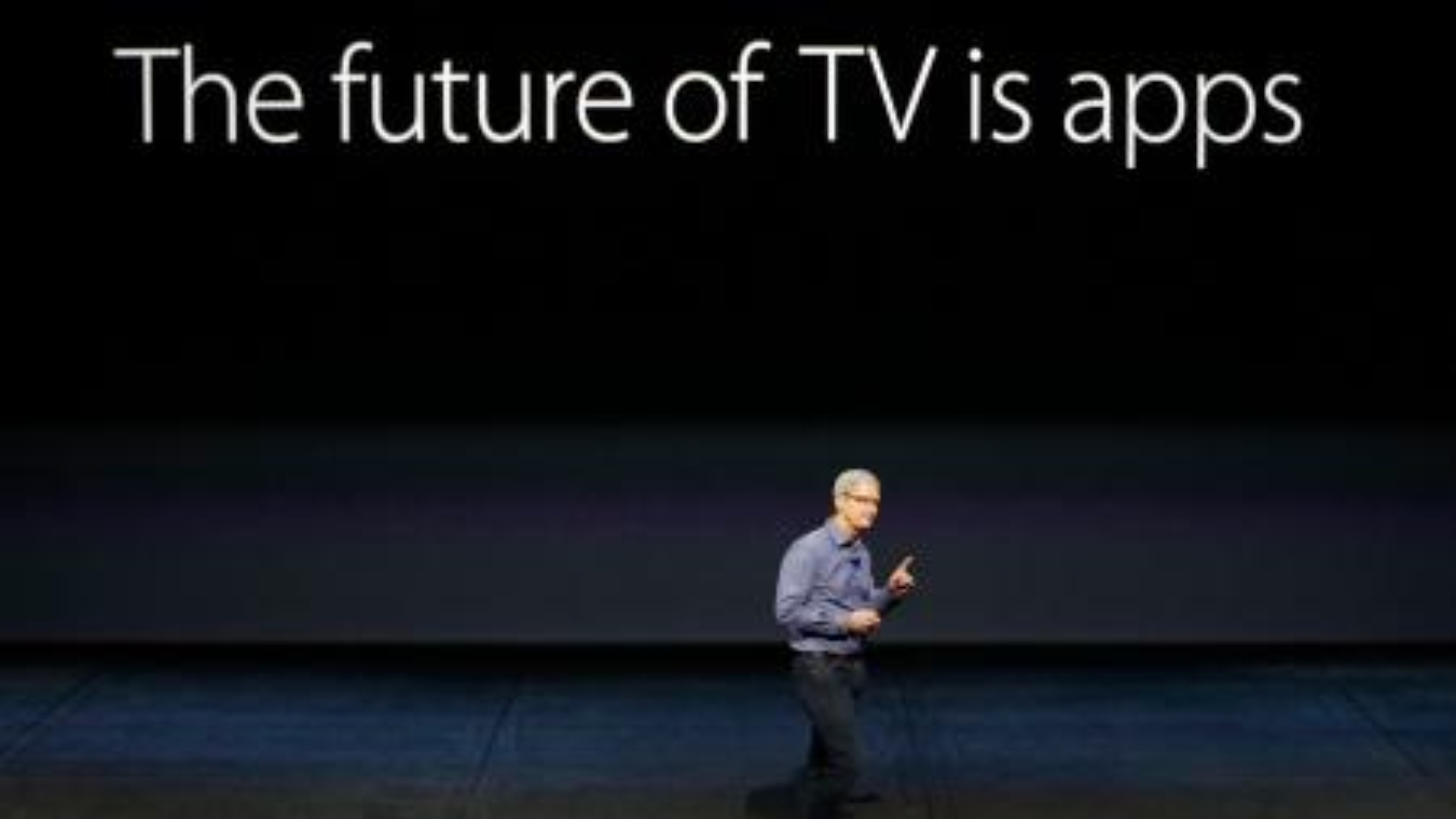 Tim Cook Apple TV