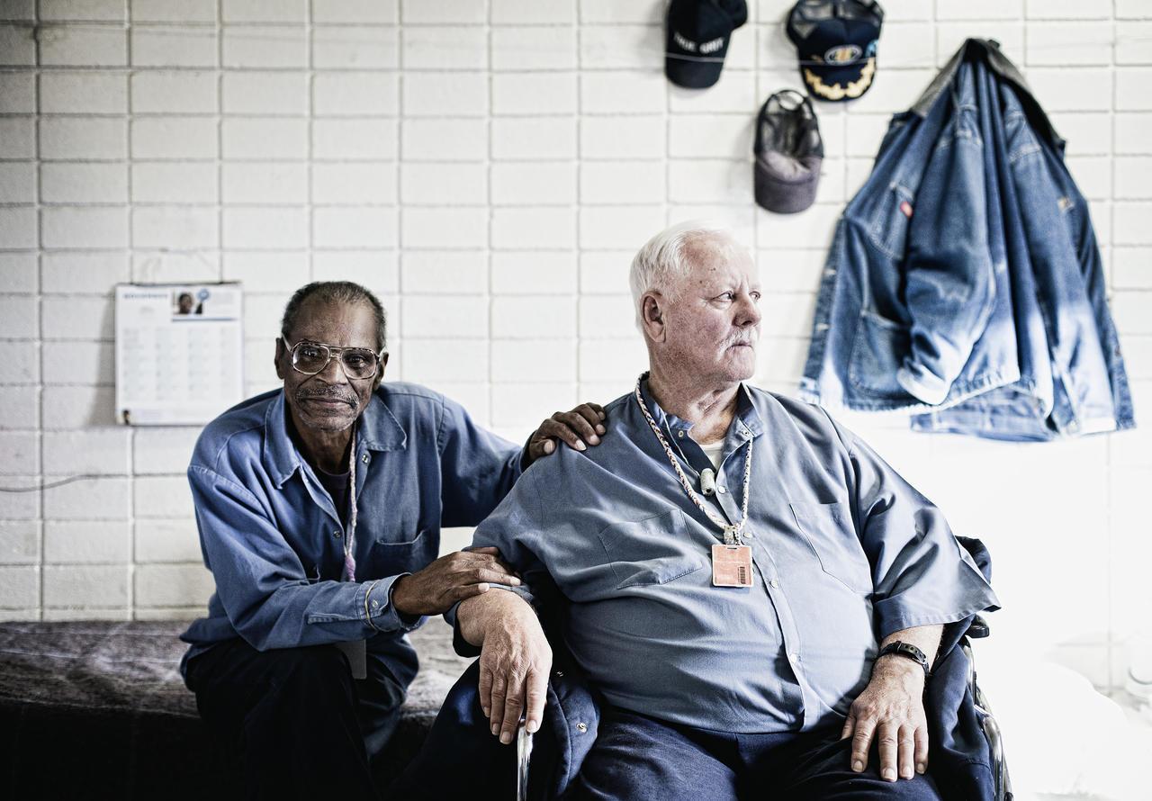 Cecil Williams and Clarke Morse