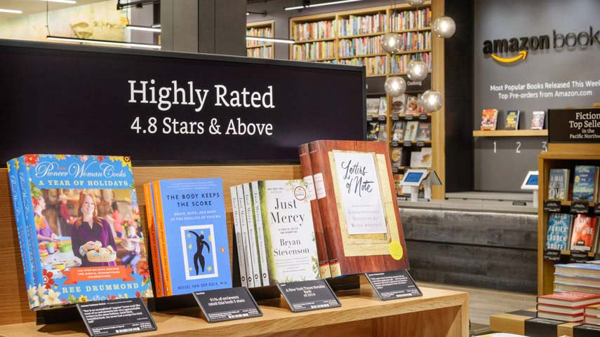 Amazon Is Opening Its First Bookstore Today In A Mall Where A Giant