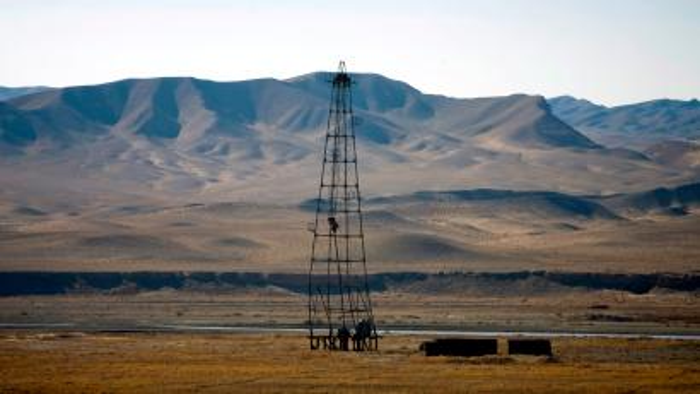 An oil installation is seen in an area near Herat December 17, 2009.