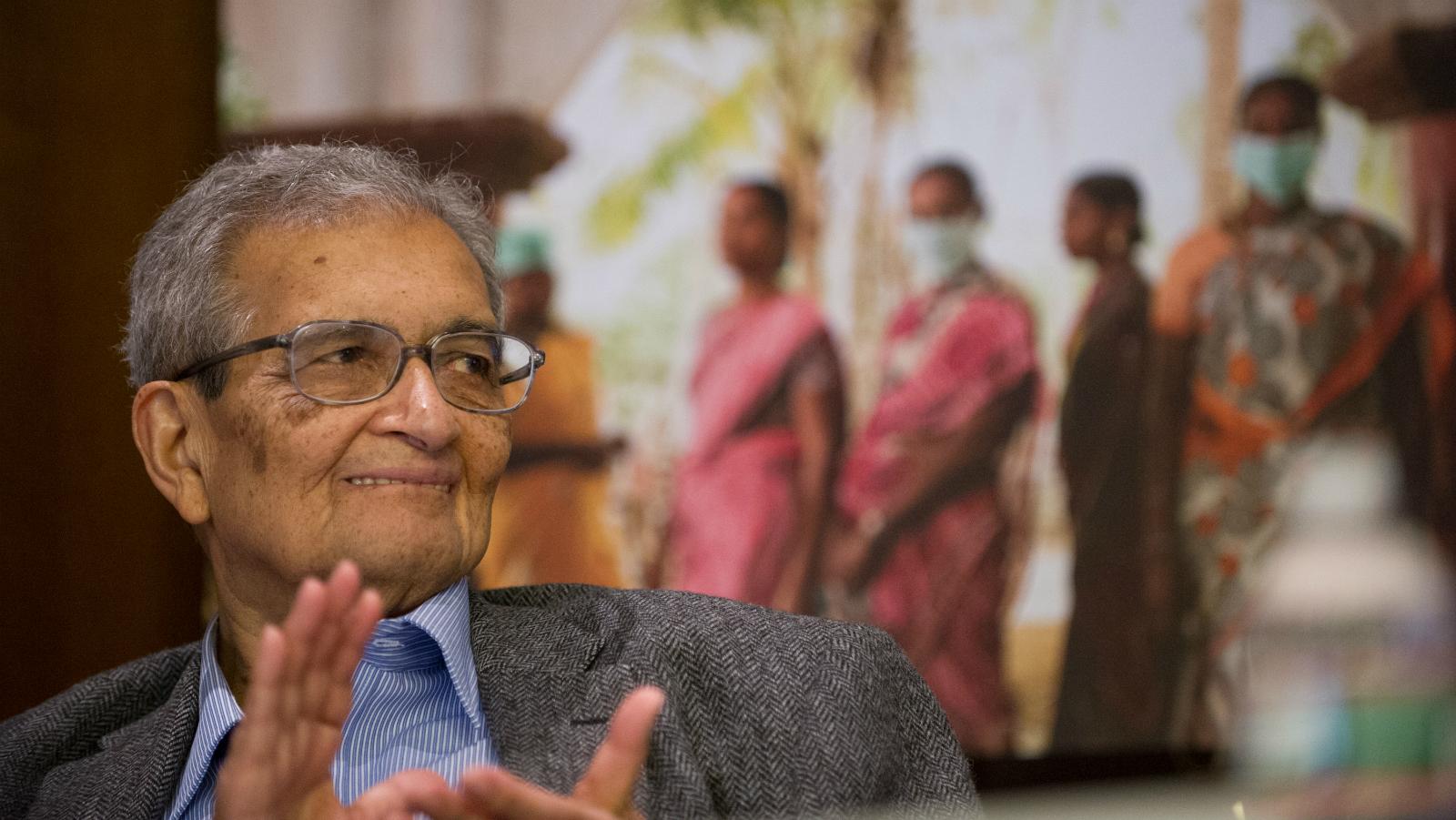 Amartya Sen-Narendra Modi-Indian economy-development-India