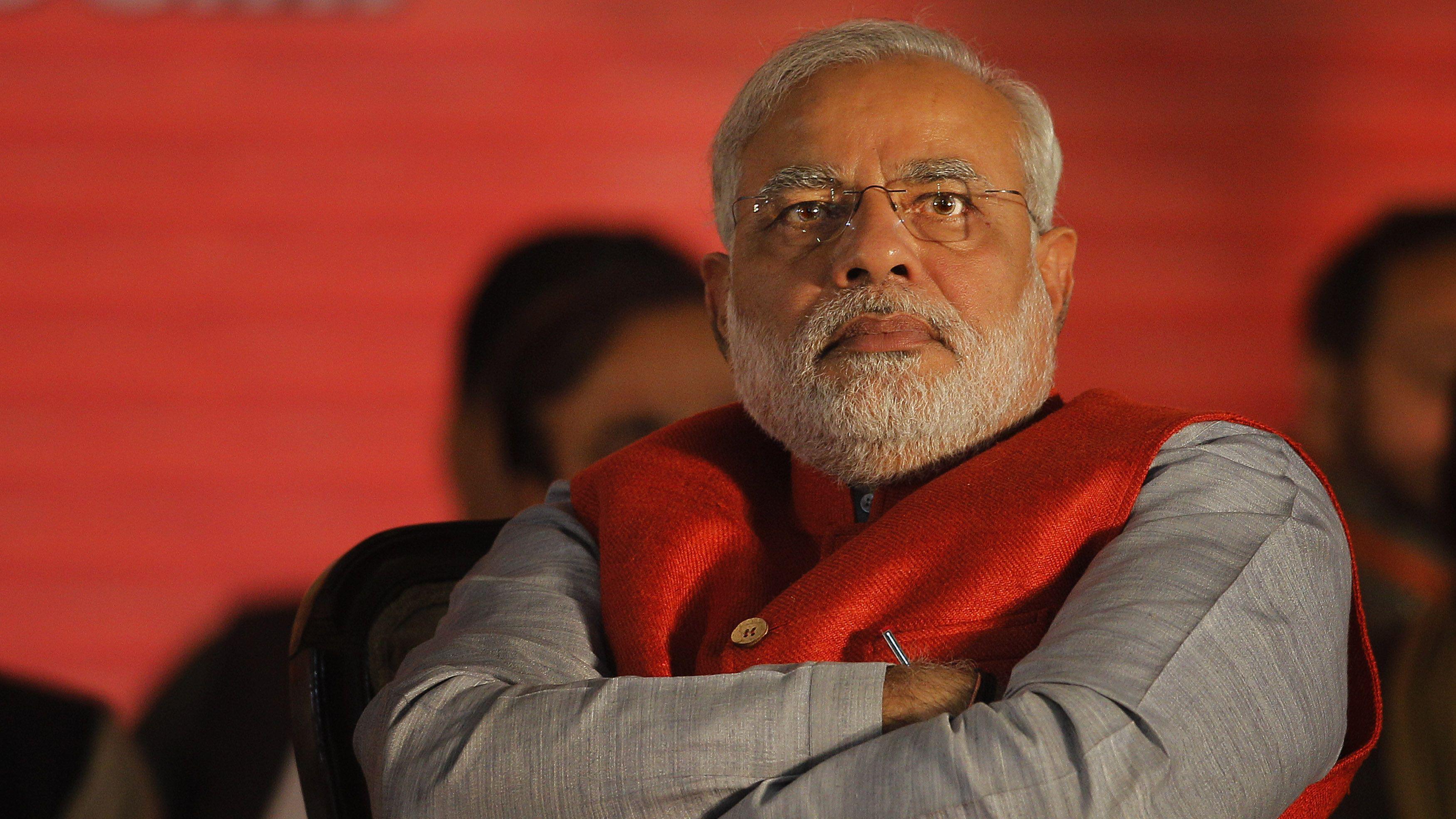 Narendra Modi in 2014.