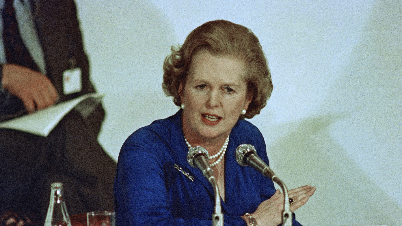 British Prime Minister Margaret Thatcher, speaking at Tokyo summit press conference in June 1979.