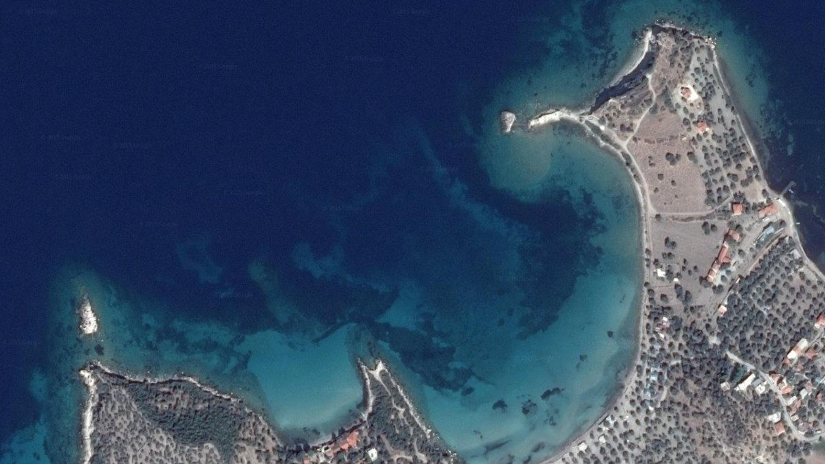 Bademli village by the Aegean sea.