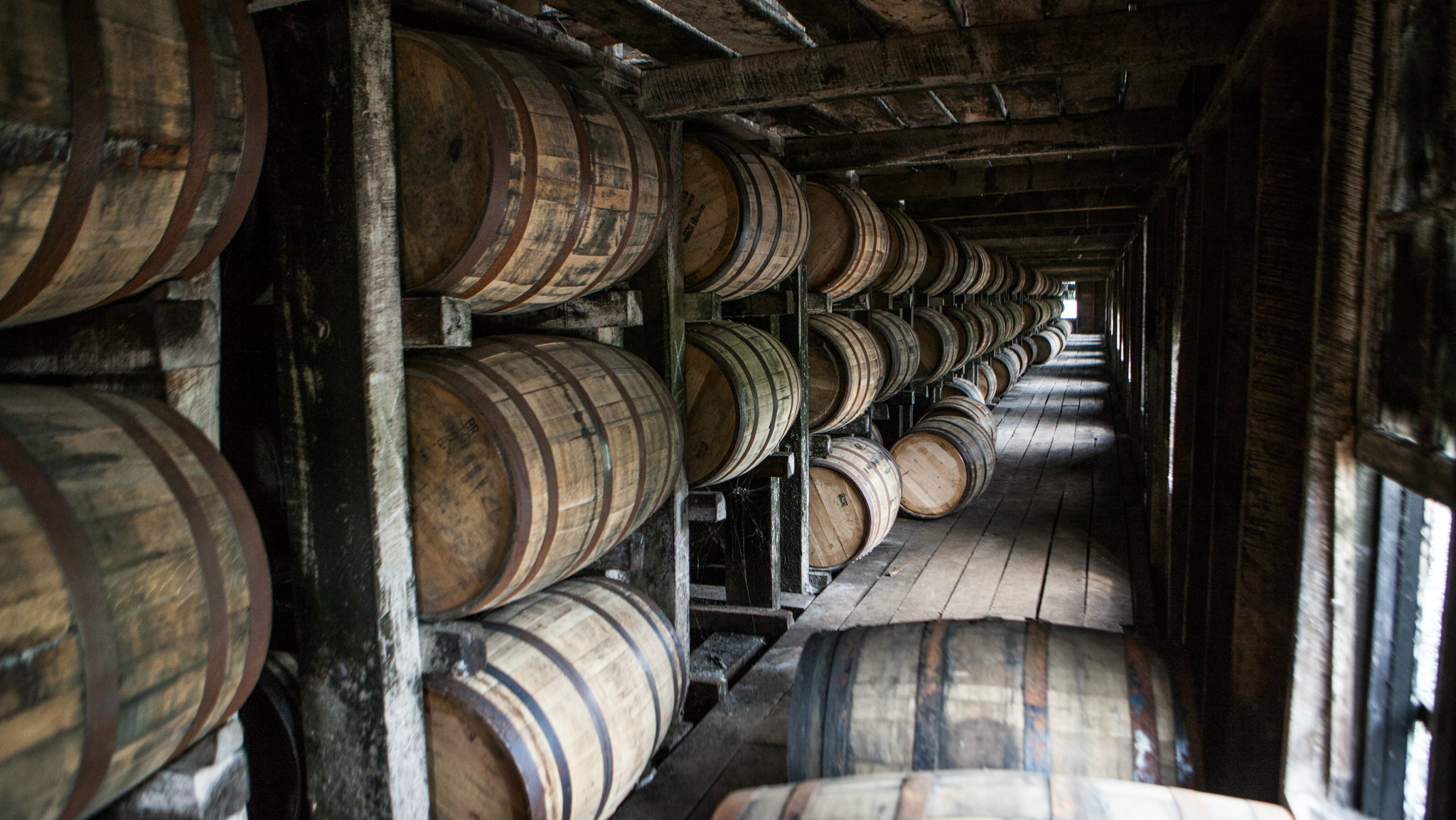 storage oak wine barrels. From Jim Beam / Ethan Fixell Storage Oak Wine Barrels L