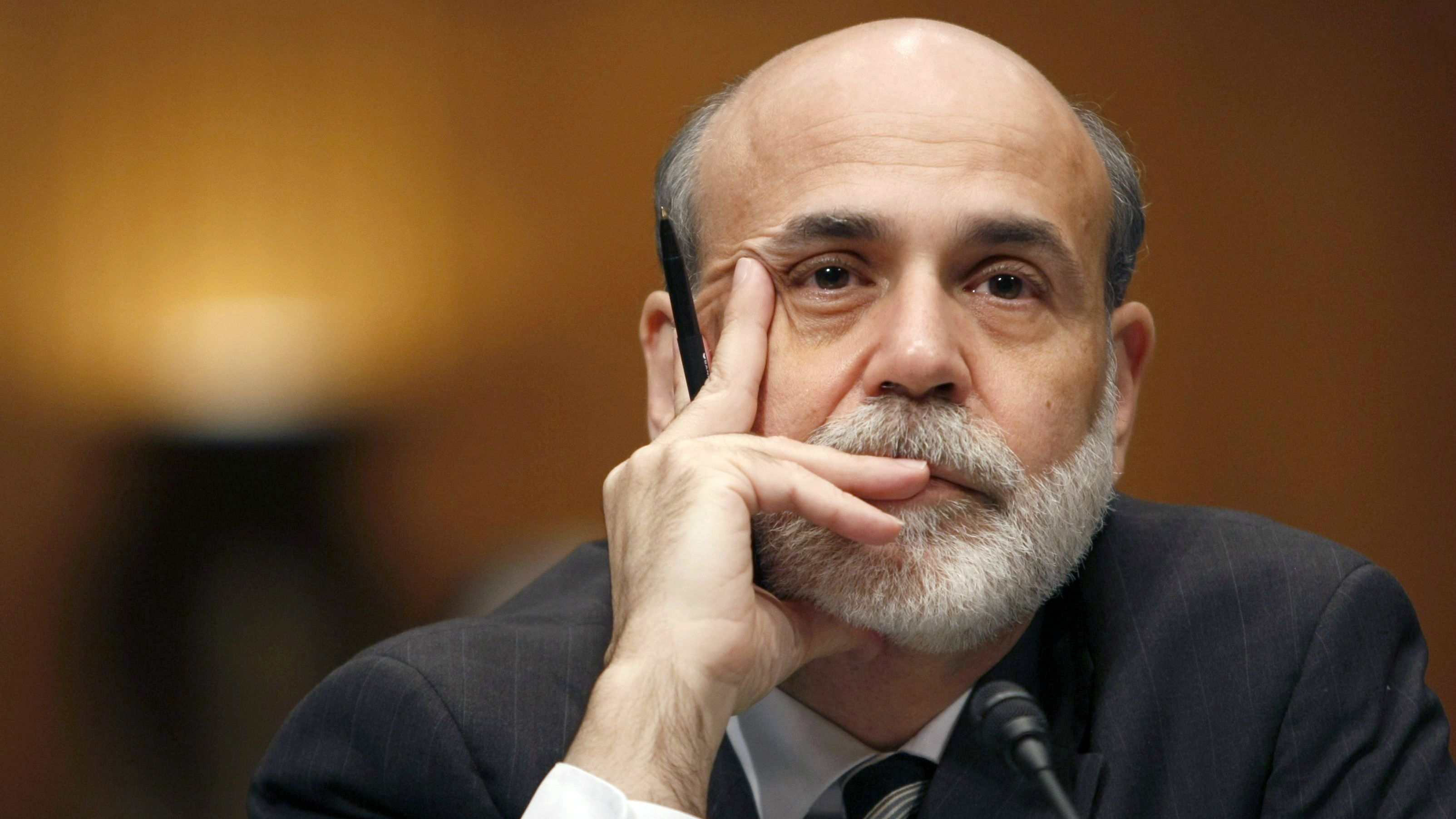 Ben Bernanke on bubbles, bitcoin, and why he's not a Republican ...