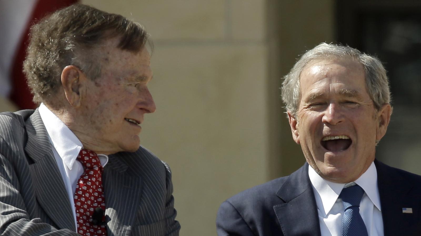 George H.W. Bush, George W. Bush
