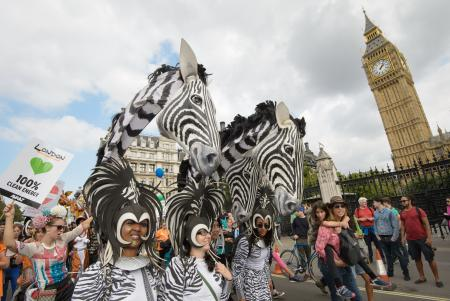 London climate protesters