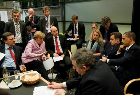 Heads of state at COP19, 2009.