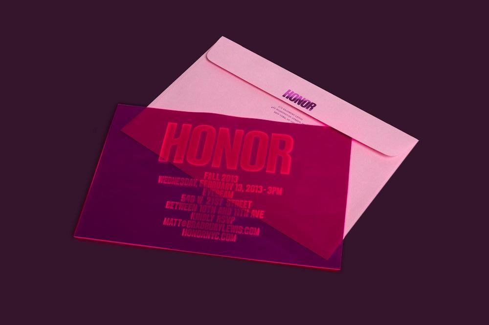honor invitation