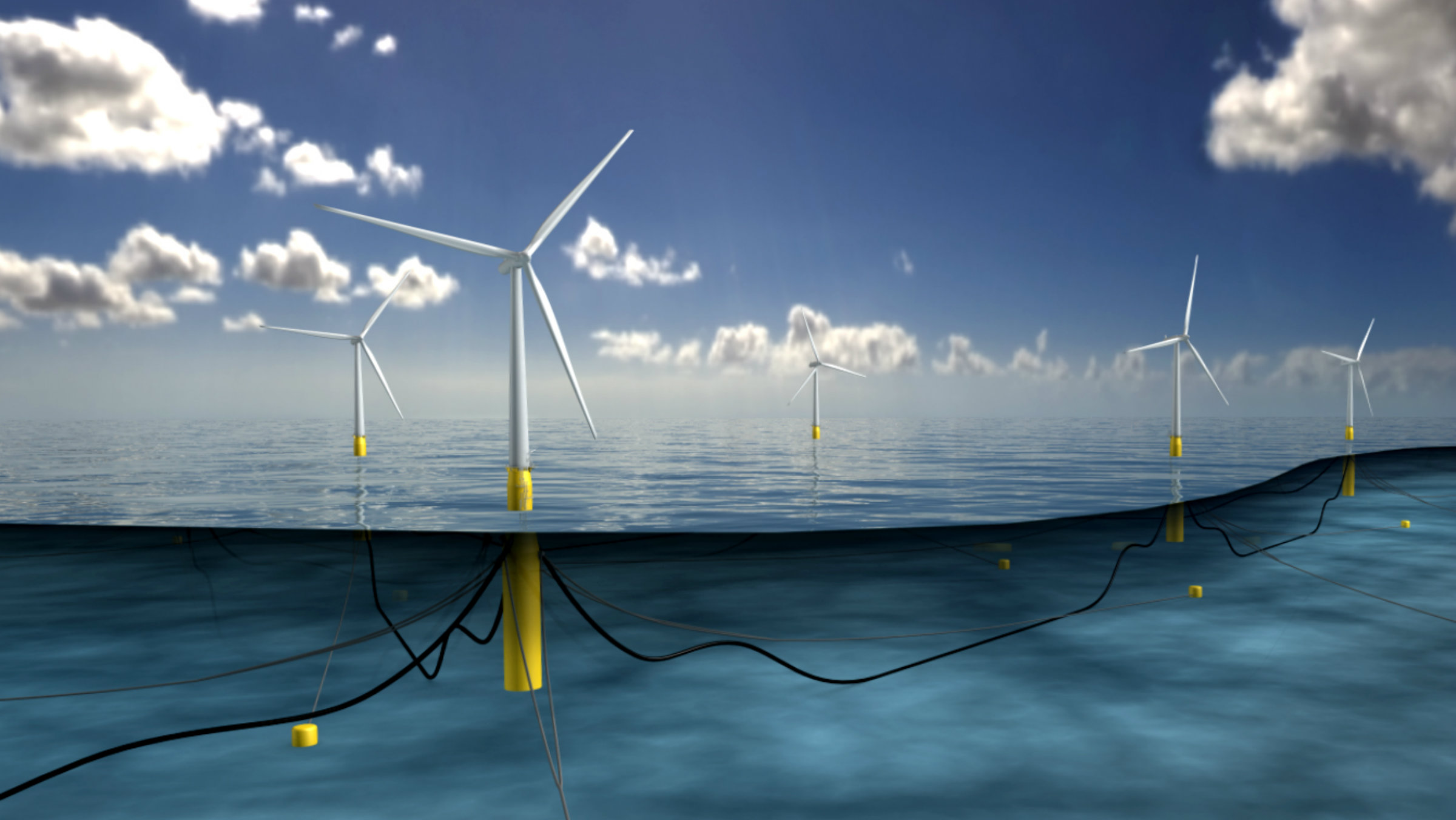Hywind Scotland pilot floating wind park overview