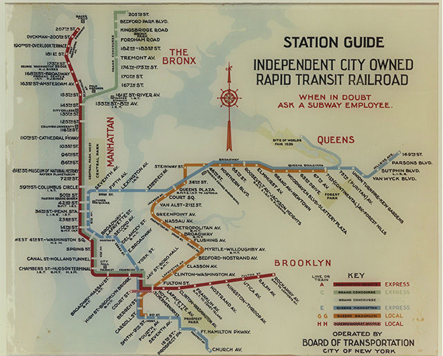 Bmt Subway Map.The History Behind New York City S Missing Subway Lines Quartz