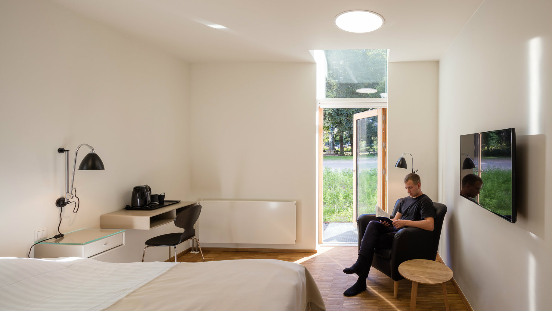 "In Scandinavia, ""patient hotels"" provide an alternative to hospitals ..."