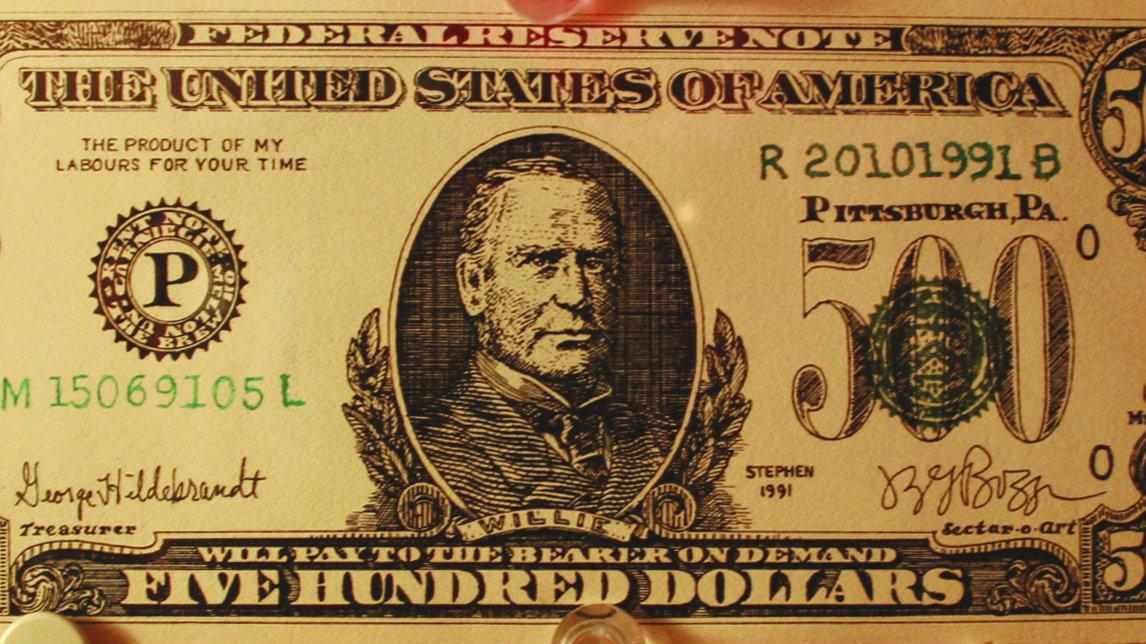 When is a fake $500 bill worth $15,000? When it's art — Quartz