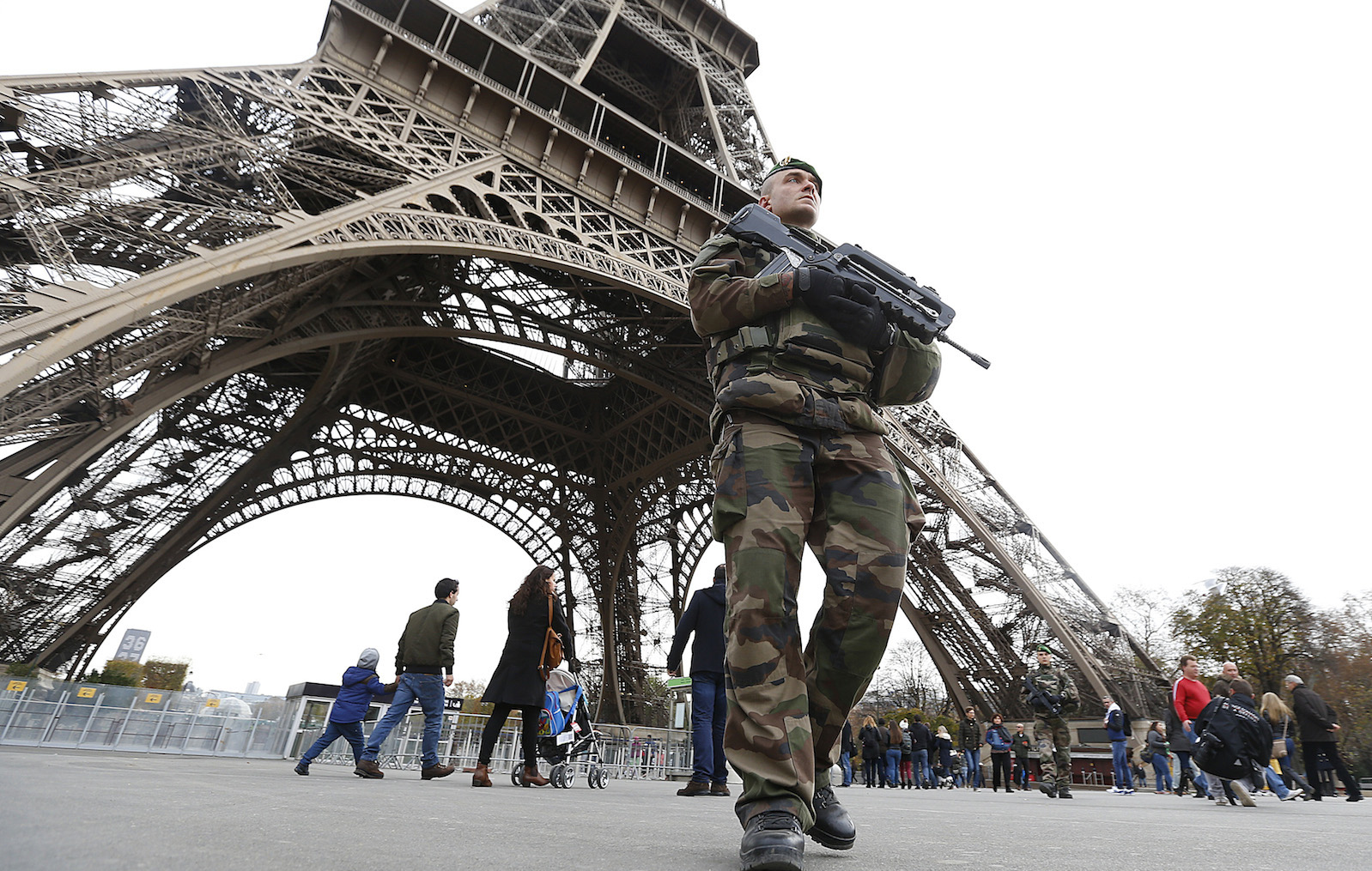 The 2008 mumbai strikes have now become the global blueprint for french military patrol near the eiffel tower the day after a series of deadly attacks in malvernweather Choice Image