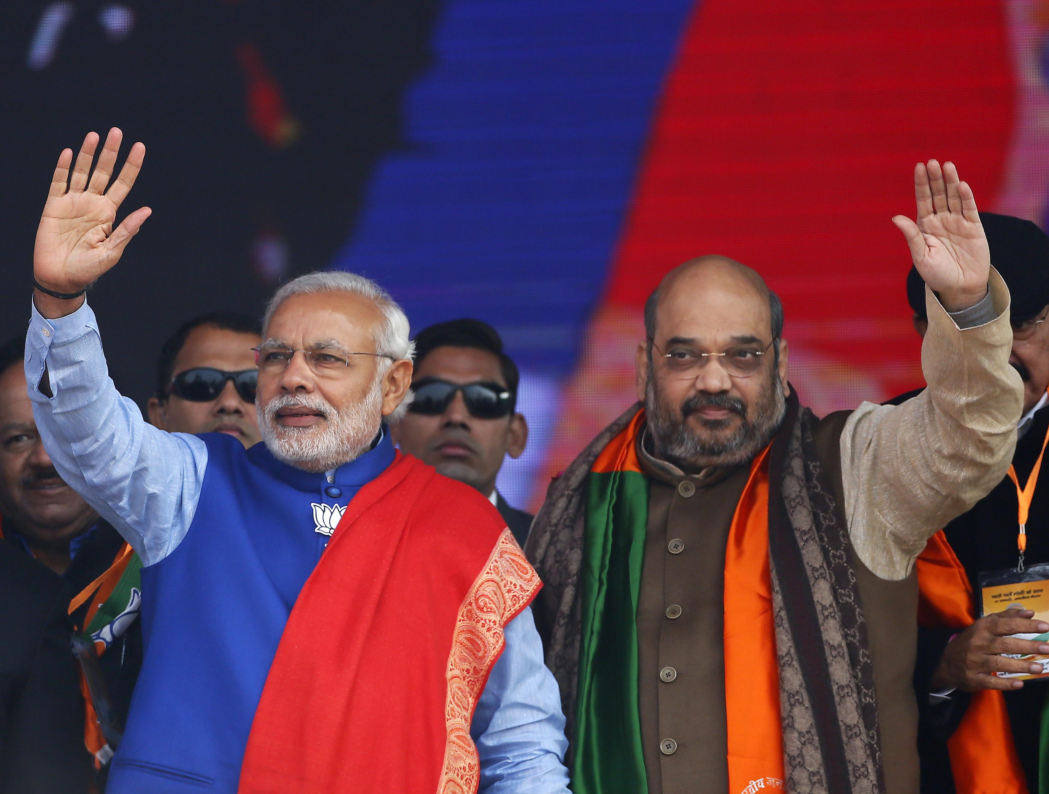Narendra Modi-Amit Shah-Nitish Kumar-Lalu Prasad Yadav-Bihar elections